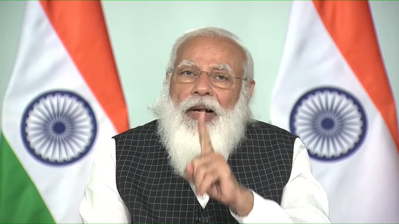 PM Modi reviews Covid-19 situation and vaccination progress with Chief Ministers – YouTube