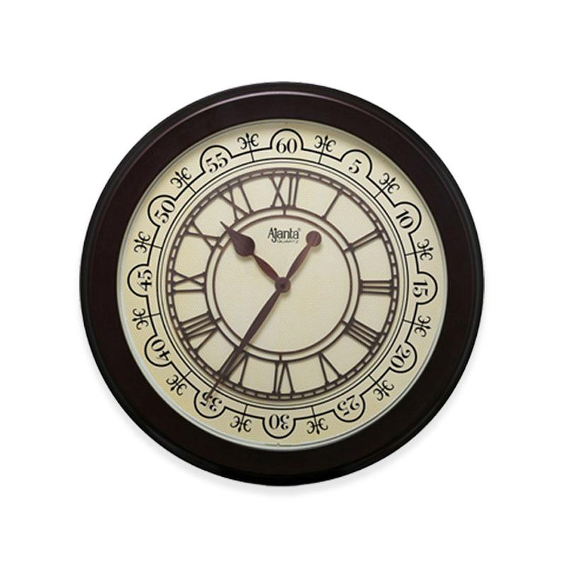 Designer-Wall-Clock-–-2487-–-Brown-1